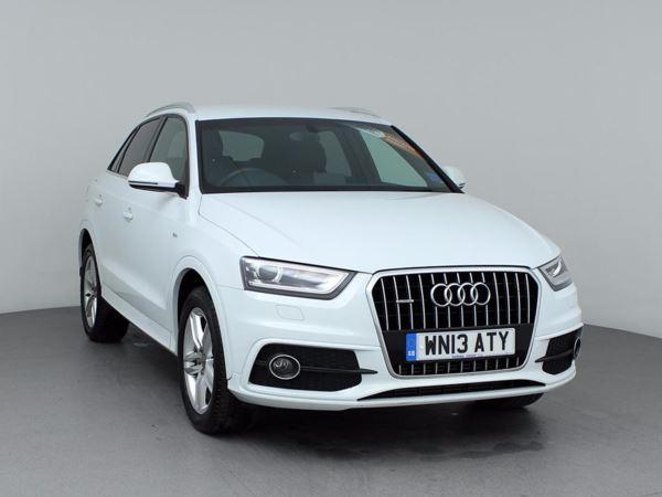 (2013) Audi Q3 2.0 TDI Quattro S Line 5dr - SUV 5 Seats Bluetooth Connection - Parking Sensors - Xenon Headlights - Rain Sensor