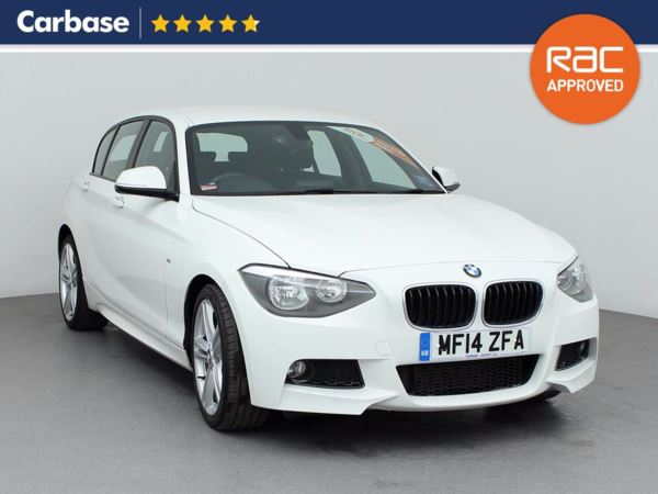 (2014) BMW 1 Series 120d M Sport 5dr Step Auto £2910 Of Extras - Bluetooth Connection - £30 Tax - Parking Sensors