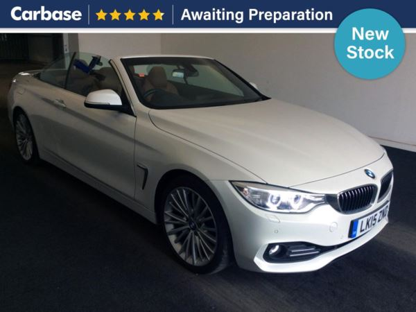 (2015) BMW 4 Series 425d Luxury 2dr Auto £3115 Of Extras - Satellite Navigation - Luxurious Leather - Bluetooth Connection - Parking Sensors