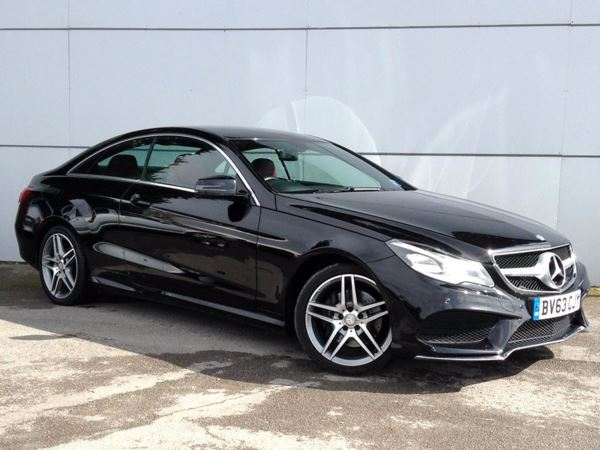 (2013) Mercedes-Benz E Class E220 CDI AMG Sport 2dr 7G-Tronic With Paddle Shift £645 Of Extras - Satellite Navigation - Luxurious Leather - Bluetooth Connectivity