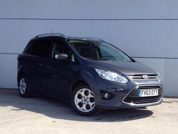 (2014) Ford Grand C-Max 1.6 TDCi Zetec 5dr - MPV 7 SEATS £875 Of Extras - Bluetooth Connection - Parking Sensors - DAB Radio