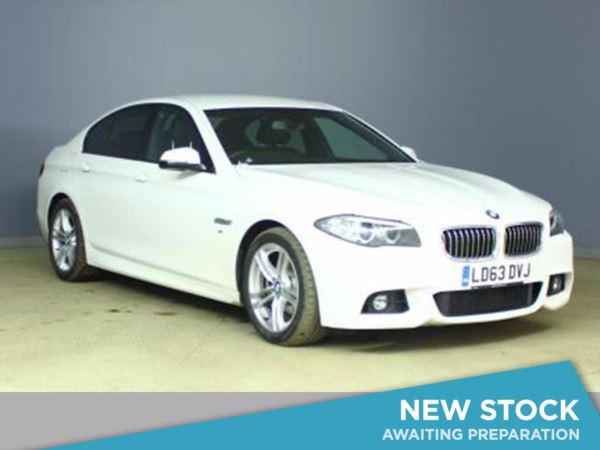 (2013) BMW 5 Series 520d M Sport 4dr Step Auto £2085 Of Extras - Satellite Navigation - Luxurious Leather - Bluetooth Connection
