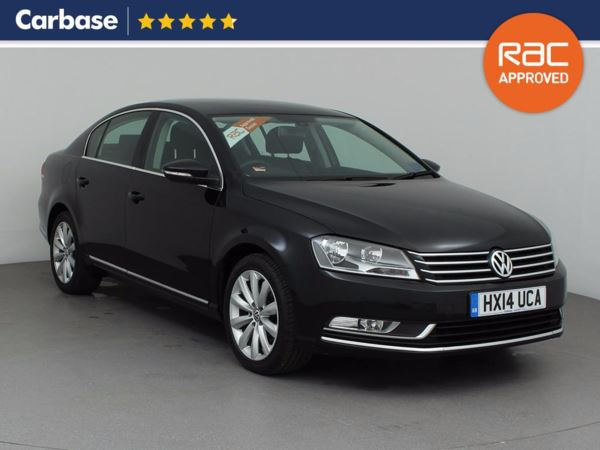 (2014) Volkswagen Passat 2.0 TDI Bluemotion Tech Highline 4dr Satellite Navigation - Luxurious Leather - Bluetooth Connection - £30 Tax