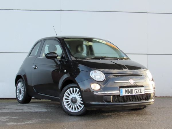 (2011) Fiat 500 0.9 TwinAir Lounge 3dr £880 Of Extras - Panoramic Roof - Bluetooth Connection - Zero Tax