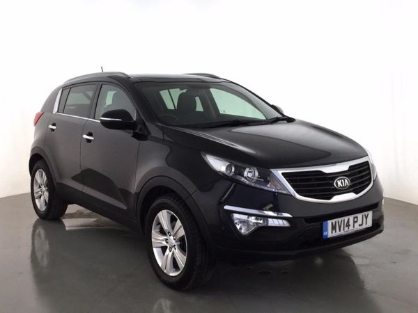 (2014) Kia Sportage 1.7 CRDi ISG 2 5dr - SUV 5 SEATS Panoramic Roof - Luxurious Leather - Bluetooth Connection - Parking Sensors