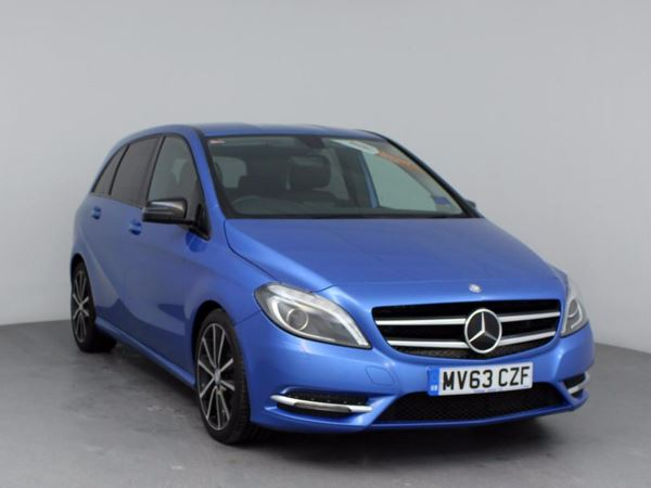 (2013) Mercedes-Benz B Class B180 CDI BlueEFFICIENCY Sport 5dr Auto - MPV 5 SEATS Bluetooth Connection - £30 Tax - Xenon Headlights - Rain Sensor - Cruise Control