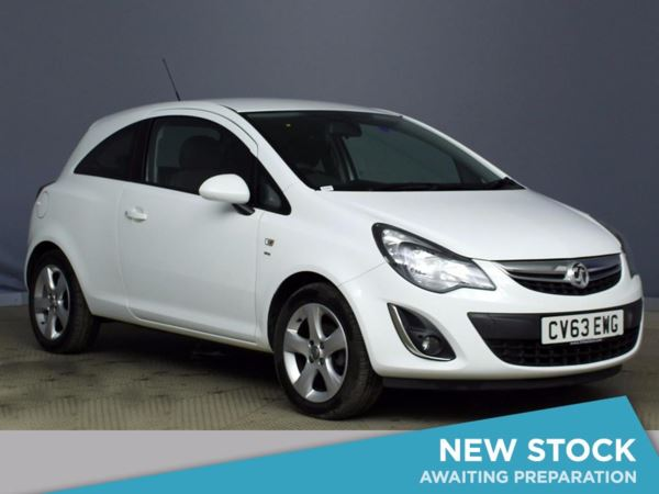(2013) Vauxhall Corsa 1.2 SXi 3dr [AC] Aux MP3 Input - Cruise Control - Air Conditioning - 1 Owner - Alloys