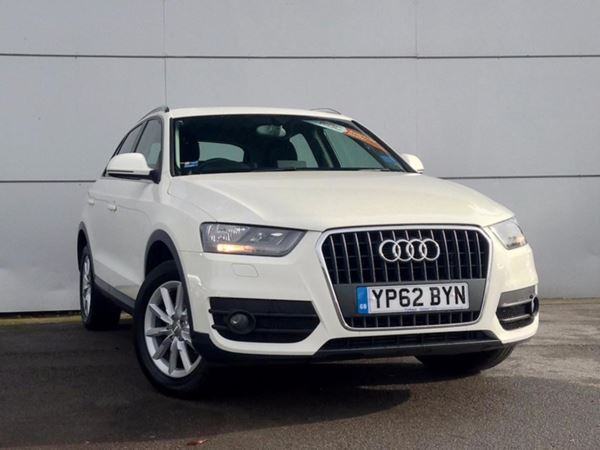 (2012) Audi Q3 2.0 TDI SE - SUV 5 SEATS £615 Of Extras - Satellite Navigation - Bluetooth Connection - Parking Sensors