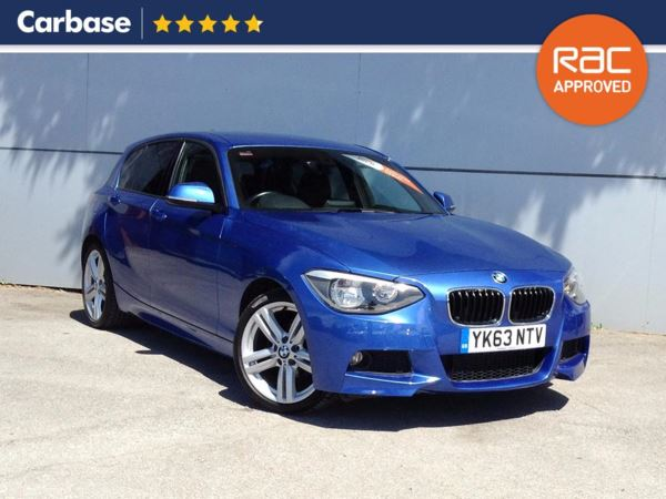 (2013) BMW 1 Series 118d M Sport 5dr Step Auto £3390 Of Extras - Bluetooth Connection - £30 Tax - Parking Sensors