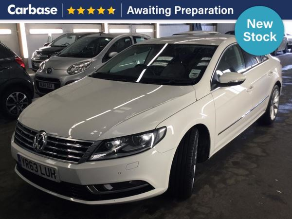(2013) Volkswagen CC 2.0 TDI 177 BlueMotion Tech GT 4dr Coupe £690 Of Extras - Satellite Navigation - Luxurious Leather - Bluetooth Connection