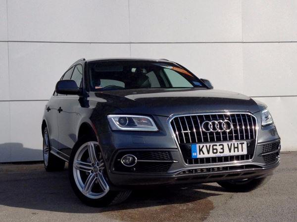(2013) Audi Q5 2.0 TDI [150] Quattro S Line 5dr - SUV 5 Seats Satellite Navigation - Bluetooth Connection - Parking Sensors - DAB Radio