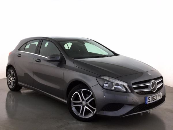 (2014) Mercedes-Benz A Class A180 CDI BlueEFFICIENCY AMG Sport 5dr Luxurious Leather - Bluetooth Connection - £20 Tax - Rain Sensor - Cruise Control
