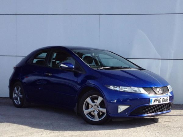 (2010) Honda Civic 1.4 i-VTEC Si 5dr Luxurious Leather - Aux MP3 Input - Climate Control - Air Conditioning