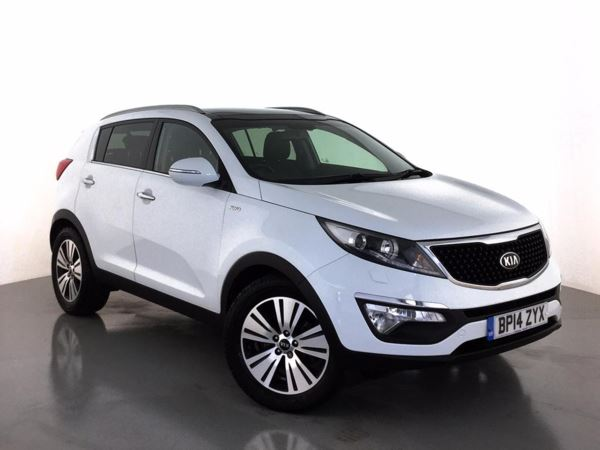 (2014) Kia Sportage 2.0 CRDi KX-3 5dr Auto [Sat Nav] Panoramic Roof - Satellite Navigation - Bluetooth Connection - USB Connection