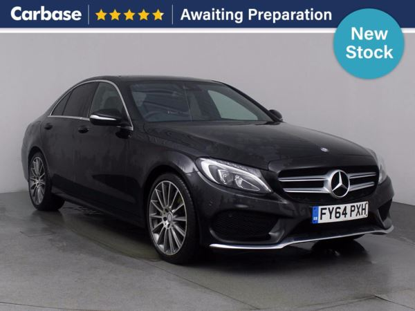 (2014) Mercedes-Benz C Class C220 BlueTEC AMG Line 4dr £1055 Of Extras - Satellite Navigation - Luxurious Leather - Bluetooth Connectivity