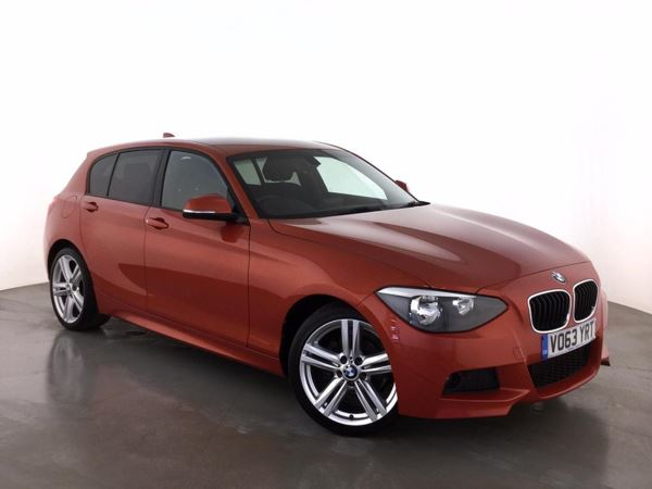 (2013) BMW 1 Series 116d M Sport 5dr £955 Of Extras - Bluetooth Connection - £30 Tax - Alcantara - DAB Radio