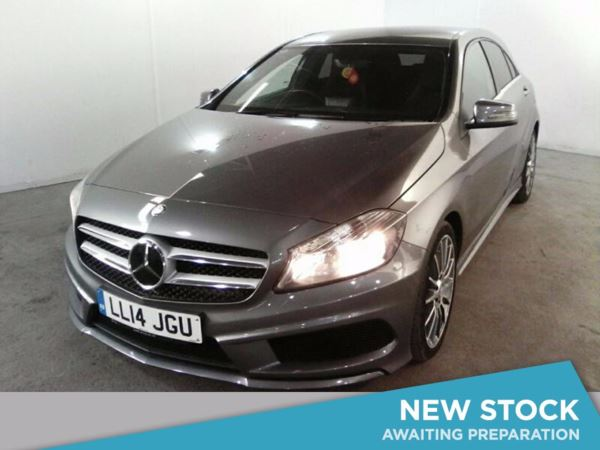 (2014) Mercedes-Benz A Class A200 [2.1] CDI AMG Sport 5dr Bluetooth Connection - £30 Tax - Rain Sensor - Cruise Control - Air Conditioning