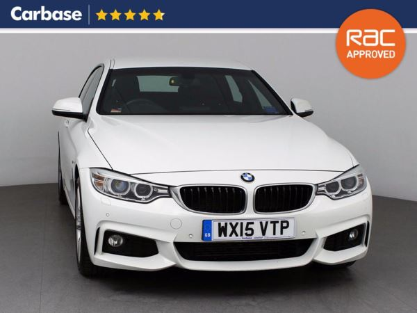 (2015) BMW 4 Series 420d M Sport 5dr Auto Coupe Satellite Navigation - Luxurious Leather - Bluetooth Connection - Parking Sensors