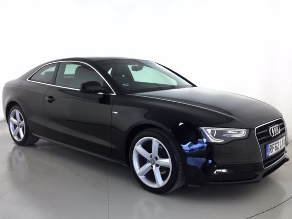 (2013) Audi A5 1.8T FSI S Line 2dr Multitronic £2220 Of Extras - Luxurious Leather - Bluetooth Connection - Parking Sensors