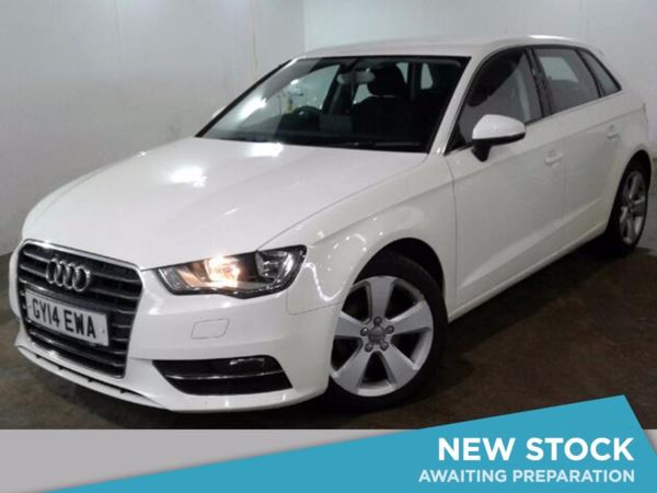 (2014) Audi A3 1.6 TDI Sport 5dr Bluetooth Connection - Zero Tax - DAB Radio - 6 Speed - Climate Control