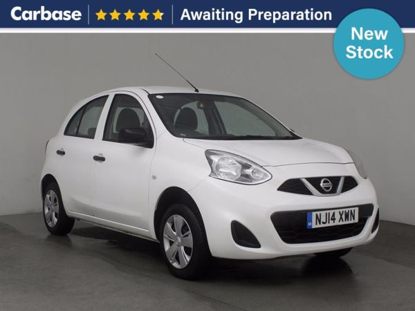 (2014) Nissan Micra 1.2 Visia 5dr Bluetooth Connection - £30 Tax - Aux MP3 Input - USB Connection - 1 Owner