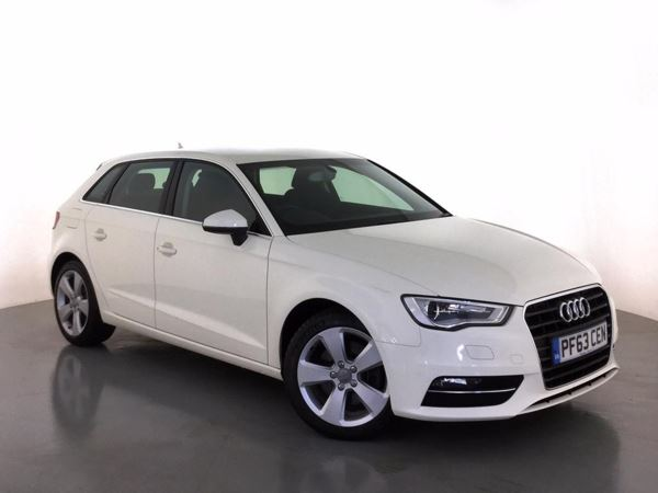(2014) Audi A3 2.0 TDI 184 Sport 5dr £1250 Of Extras - Luxurious Leather - Bluetooth Connection - £20 Tax - Alcacantara