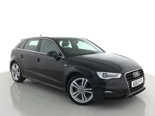 (2013) Audi A3 2.0 TDI S Line 5dr £1780 Of Extras - Luxurious Leather - Bluetooth Connection - £20 Tax - DAB