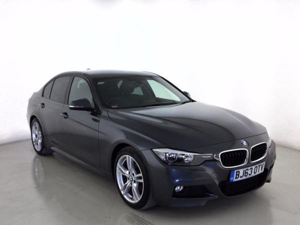 (2014) BMW 3 Series 320d M Sport 4dr £1650 Of Extras - Luxurious Leather - Bluetooth Connection - £30 Tax