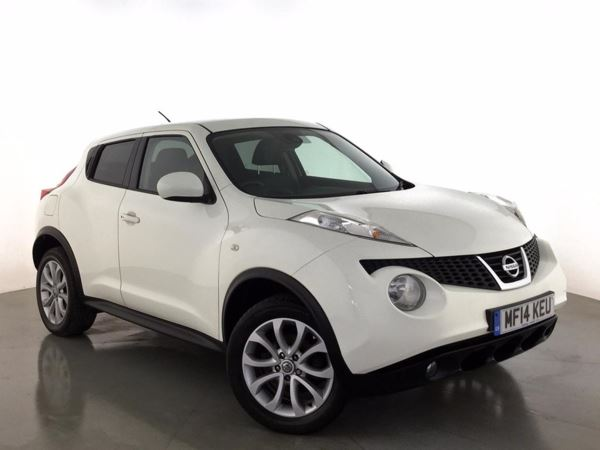 (2014) Nissan Juke 1.5 dCi Tekna 5dr [Start Stop] - SUV 5 SEATS Satellite Navigation - Bluetooth Connection - £20 Tax - USB Connection