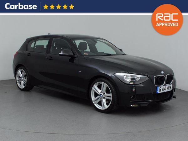 (2014) BMW 1 Series 120d M Sport 5dr £3360 Of Extras - Satellite Navigation - Bluetooth Connection - £30 Tax