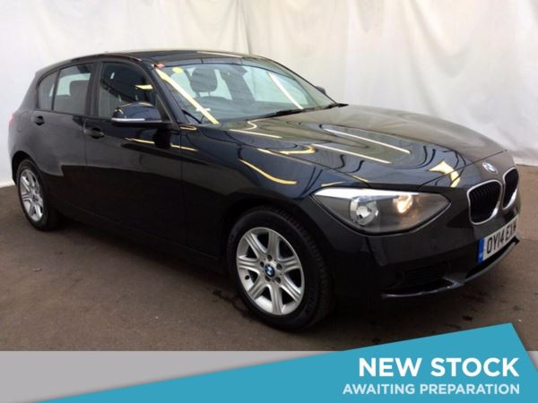 (2014) BMW 1 Series 116d ES 5dr £20 Tax - DAB Radio - Aux MP3 Input - 6 Speed - Air Conditioning - Alloys