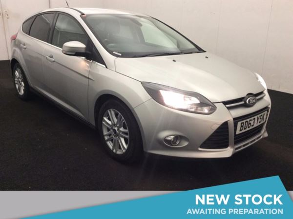 (2013) Ford Focus 1.6 TDCi 115 Titanium 5dr £1050 Of Extras - Satellite Navigation - Bluetooth Connection - £20 Tax
