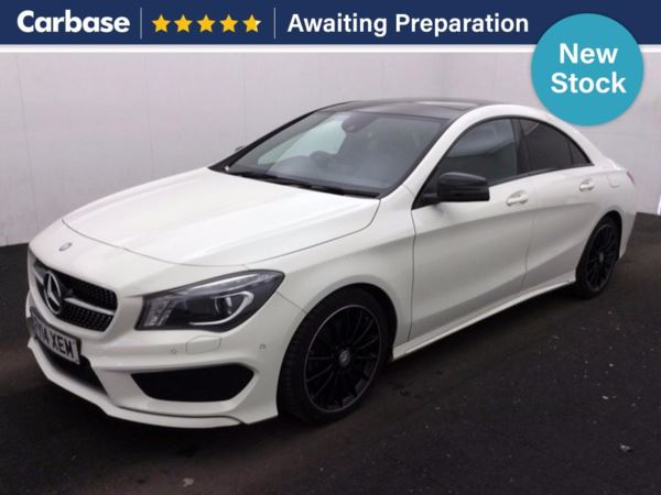 (2014) Mercedes-Benz CLA CLASS CLA 220 CDI AMG Sport 4dr Tip Auto £7210 Of Extras - Panoramic Roof - Satellite Navigation - Luxurious Leather