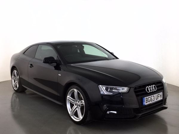 (2014) Audi A5 2.0 TDI 177 Black Edition 2dr £2395 Of Extras - Luxurious Leather - Bluetooth Connection - £30 Tax