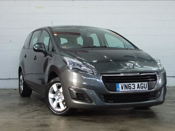 (2013) Peugeot 5008 1.6 HDi 115 Access 5dr - MPV 7 SEATS Aux MP3 Input - 6 Speed - Air Conditioning - 1 Owner - Alloys