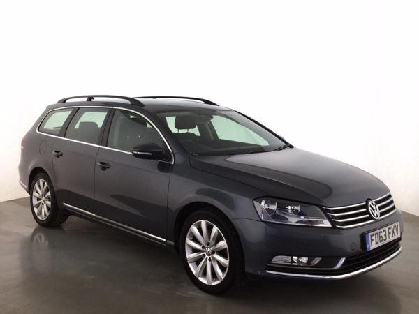 (2014) Volkswagen Passat 2.0 TDI Bluemotion Tech Highline 5dr Estate £1235 Of Extras - Satellite Navigation - Bluetooth Connection - £30 Tax
