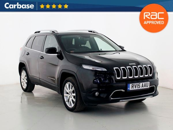 (2015) Jeep Cherokee 2.0 CRD [170] Limited 5dr Auto - SUV 5 Seats £625 Of Extras - Satellite Navigation - Luxurious Leather - Bluetooth Connection - Parking Sensors