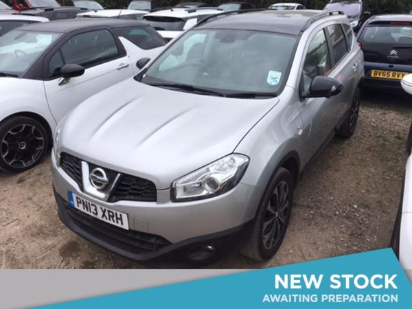 (2013) Nissan Qashqai+2 1.5 dCi [110] 360 5dr - SUV 7 Seats Panoramic Roof - Satellite Navigation - Bluetooth Connection