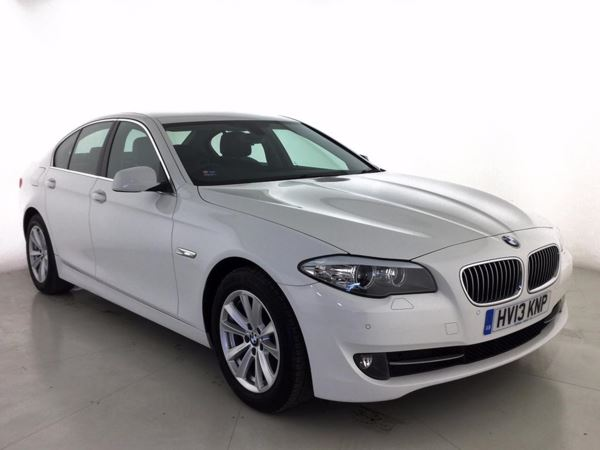 (2013) BMW 5 Series 520d SE 4dr Step Auto [Start Stop] £1855 Of Extras - Bluetooth Connection - Parking Sensors - DAB Radio - Aux