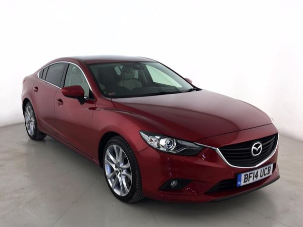 (2014) Mazda 6 2.2d [175] Sport Nav 4dr Auto Satellite Navigation - Luxurious Leather - Bluetooth Connection - Rain Sensor