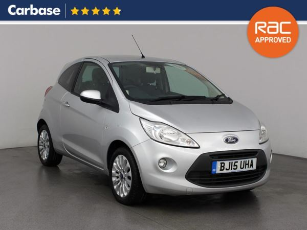 (2015) Ford KA 1.2 Zetec 3dr [Start Stop] Aux MP3 Input - Air Conditioning