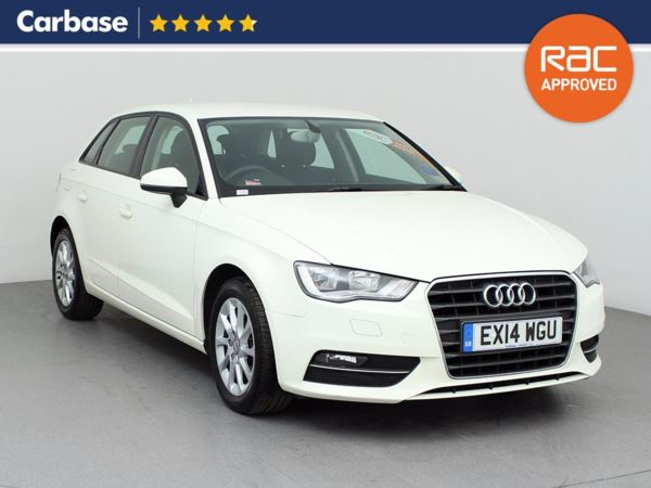 (2014) Audi A3 1.6 TDI SE 5dr Sportback Bluetooth Connection - Zero Tax - DAB Radio - 6 Speed - Air Conditioning