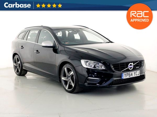 (2014) Volvo V60 D4 [181] R DESIGN Nav 5dr Estate Satellite Navigation - Bluetooth Connection - DAB Radio - Cruise Control - 1 Owner - Climate Control