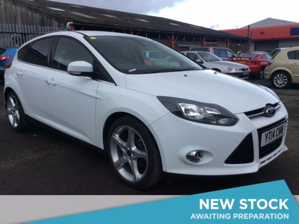 (2014) Ford Focus 1.6 TDCi 115 Titanium 5dr £775 Of Extras - Satellite Navigation - Bluetooth Connection - £20 Tax
