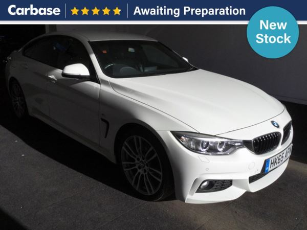 (2015) BMW 4 Series 420d [190] M Sport 5dr Auto [Professional Media] Coupe Satellite Navigation - Luxurious Leather - Bluetooth Connection - £30 Tax - Parking Sensors