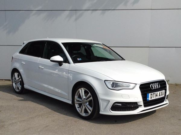 (2014) Audi A3 1.6 TDI S Line 5dr £815 Of Extras - Luxurious Leather - Bluetooth Connection - Zero Tax - DAB