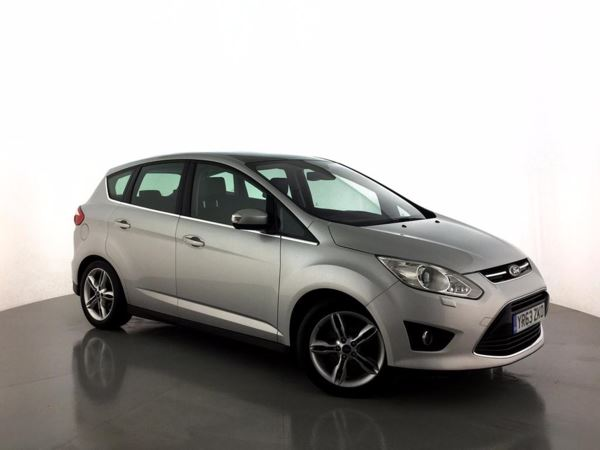 (2014) Ford C-MAX 2.0 TDCi Titanium X 5dr - MPV 5 SEATS £875 Of Extras - Panoramic Roof - Bluetooth Connection - DAB Radio - Aux MP3