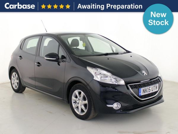 (2015) Peugeot 208 1.4 e-HDi Access+ 5dr EGC Bluetooth Connection - DAB Radio - Aux MP3 Input - USB Connection - Cruise Control - 1 Owner