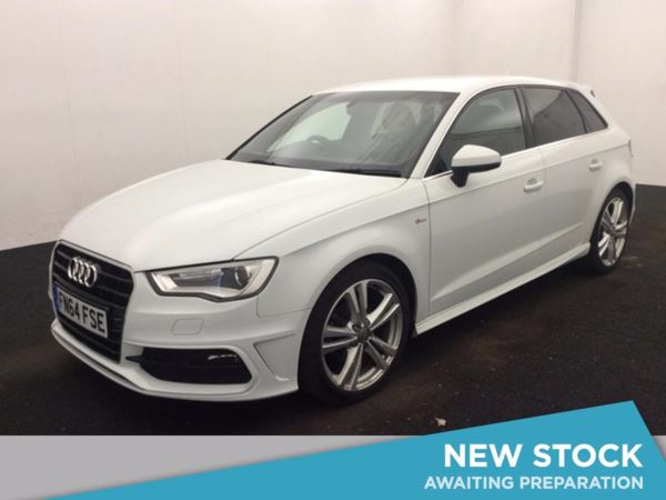 (2014) Audi A3 2.0 TDI S Line 5dr £815 Of Extras - Luxurious Leather - Bluetooth Connection - £20 Tax