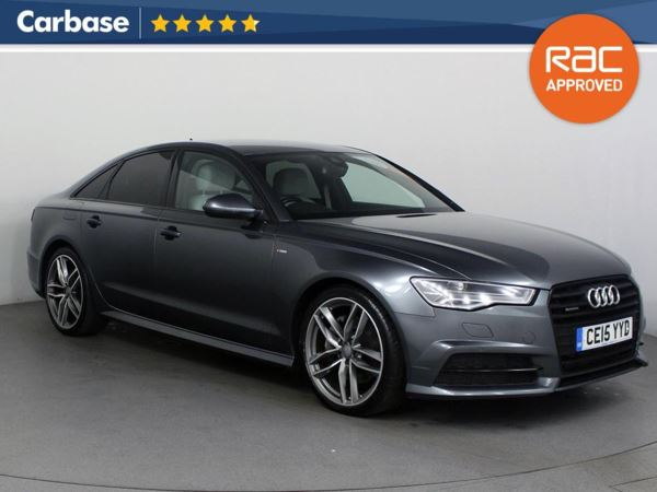 (2015) Audi A6 3.0 TDI [272] Quattro Black Edition 4dr S Tronic £3760 Of Extras - Satellite Navigation - Luxurious Leather - Bluetooth Connection - Parking Sensors